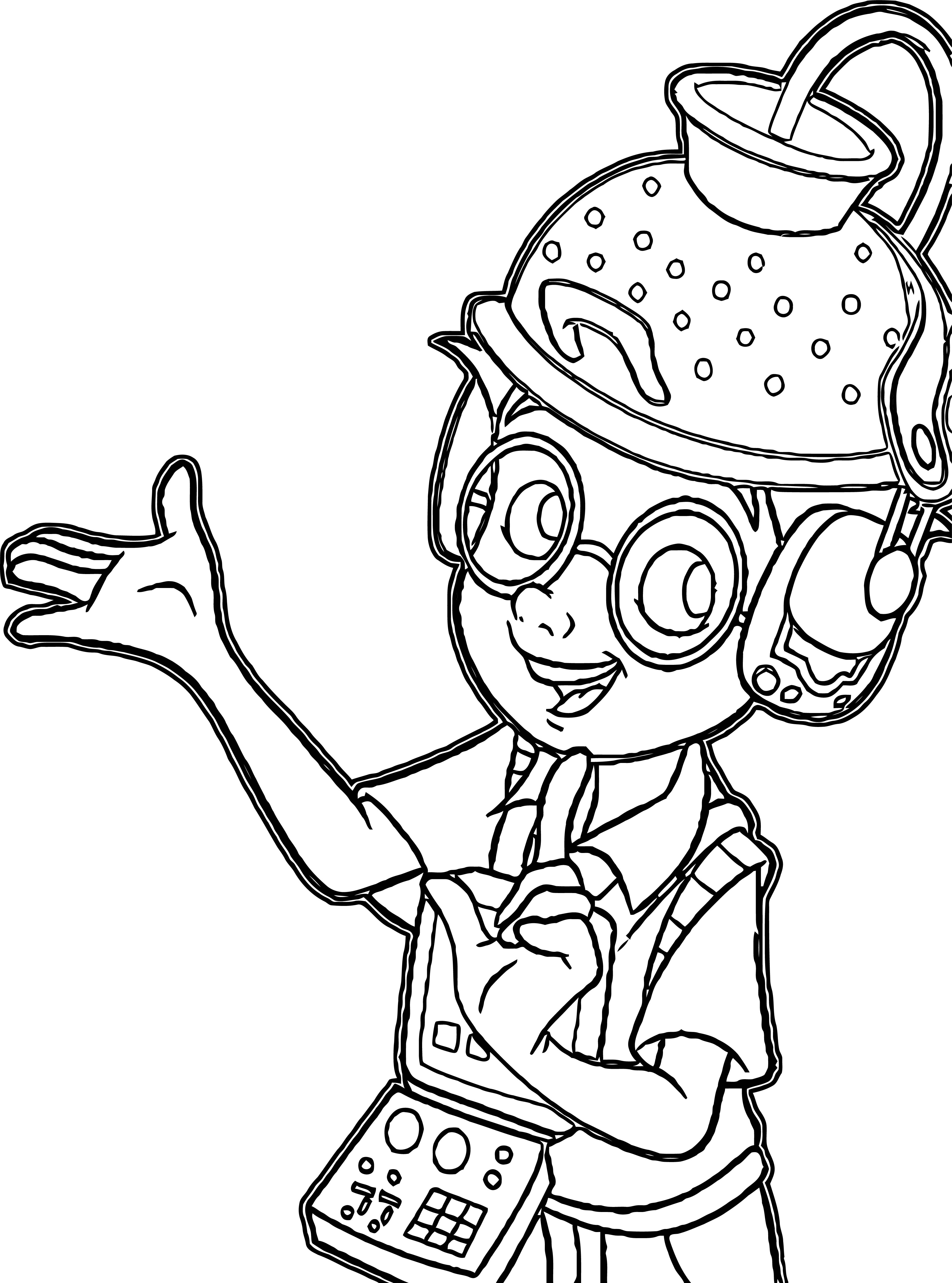 Meet The Robinsons Coloring Page 18