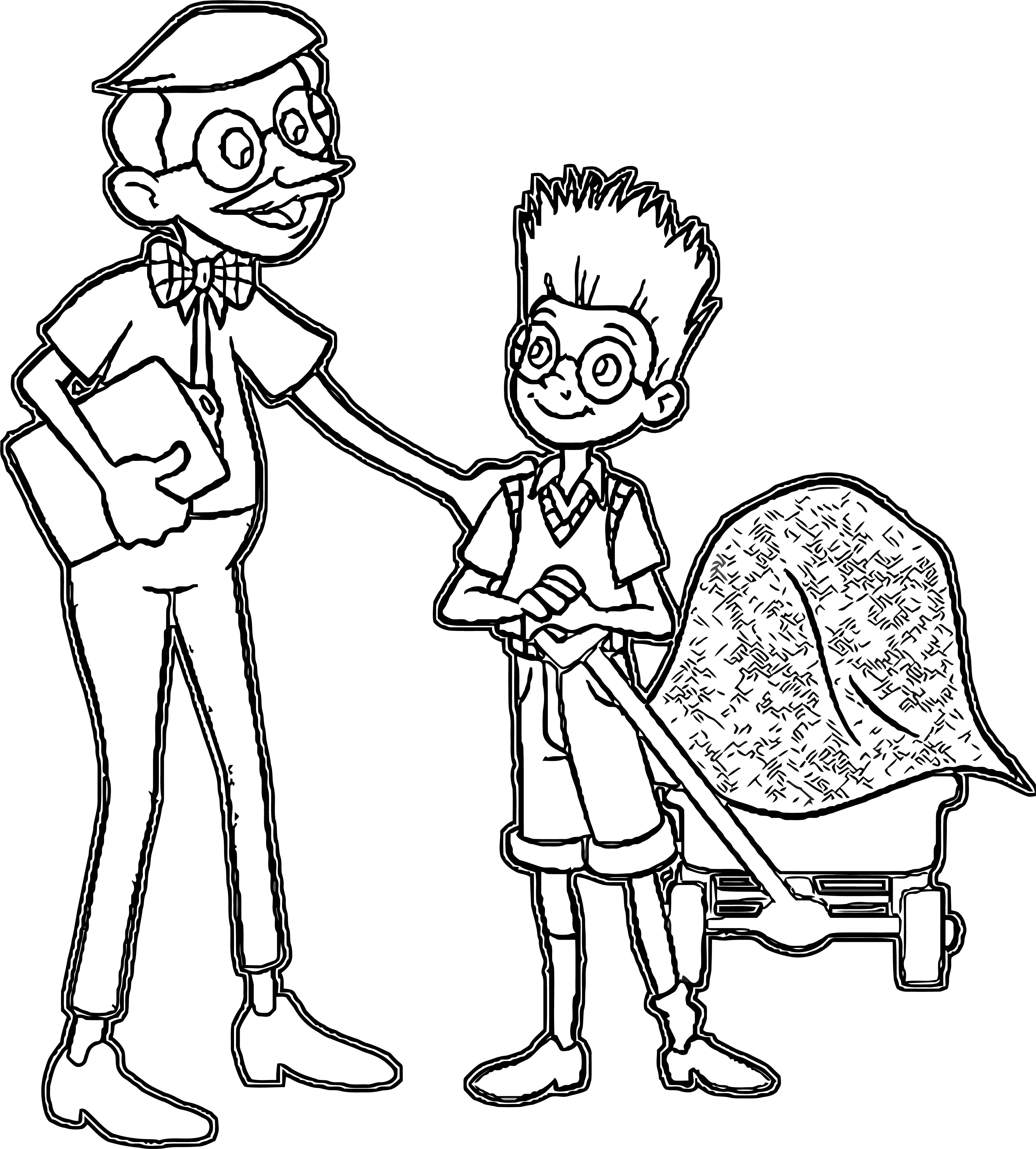 Meet The Robinsons Coloring Page 19