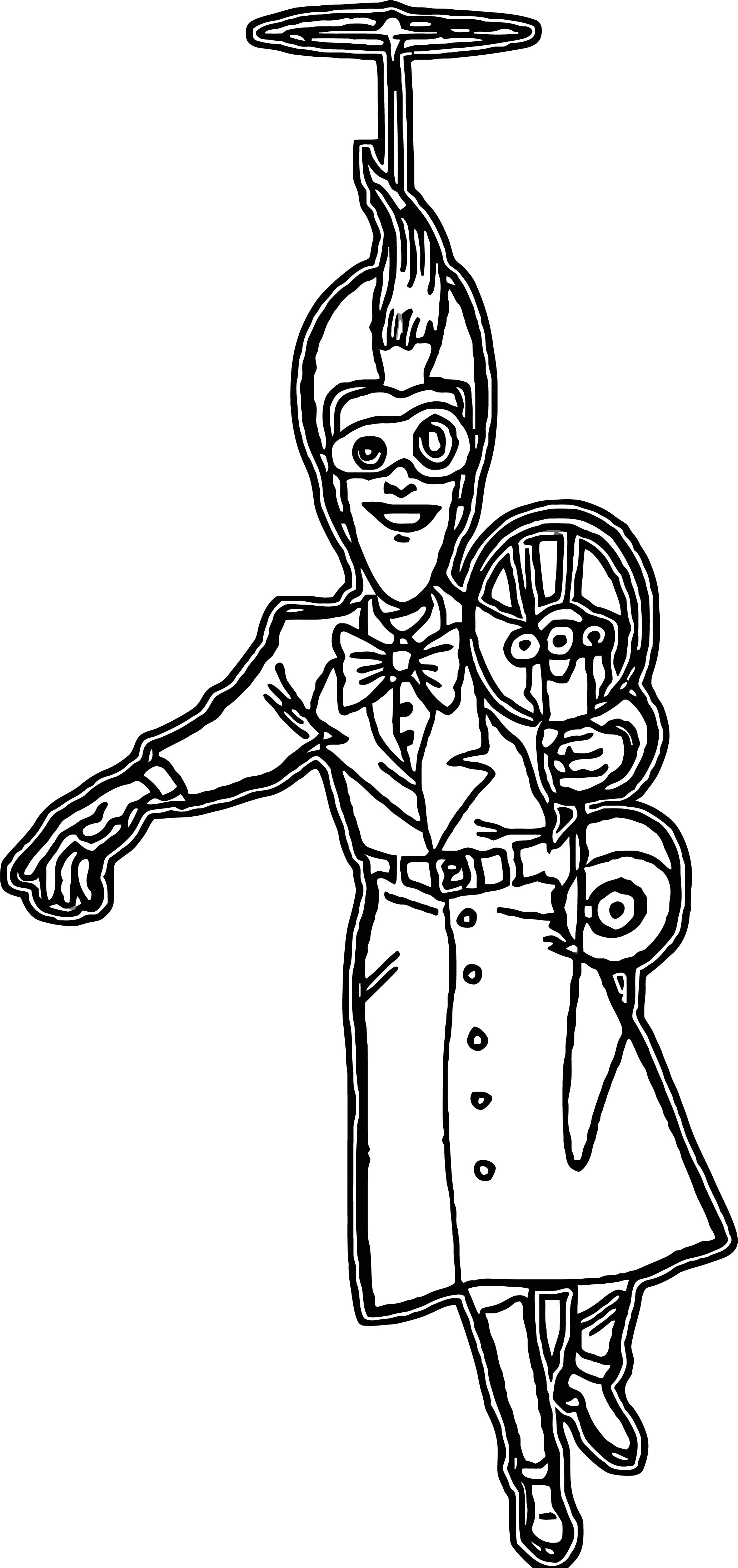 Meet The Robinsons Coloring Page 26