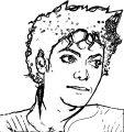 Michael Jackson Coloring Page 04