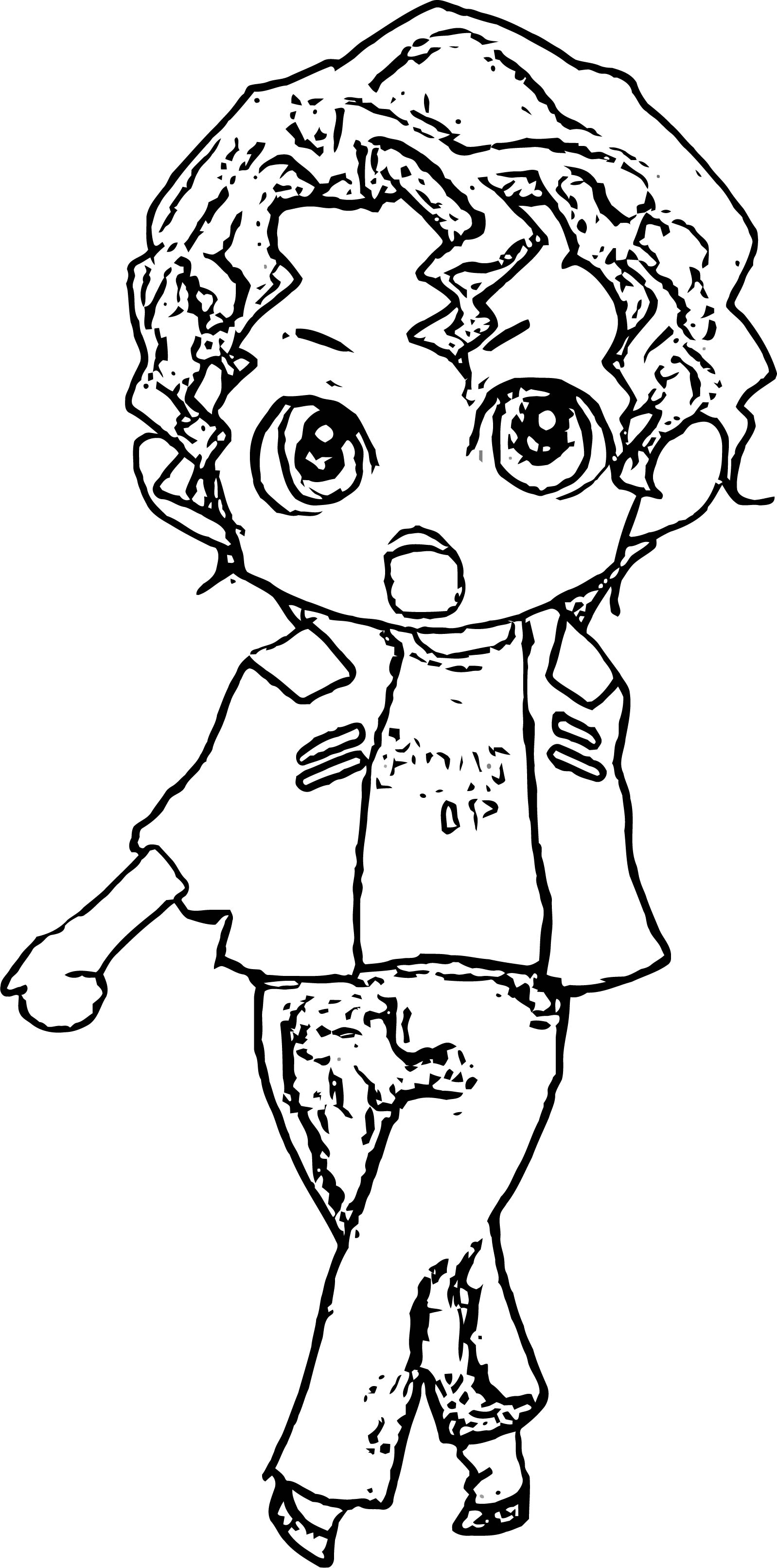 Michael Jackson Coloring Page 05