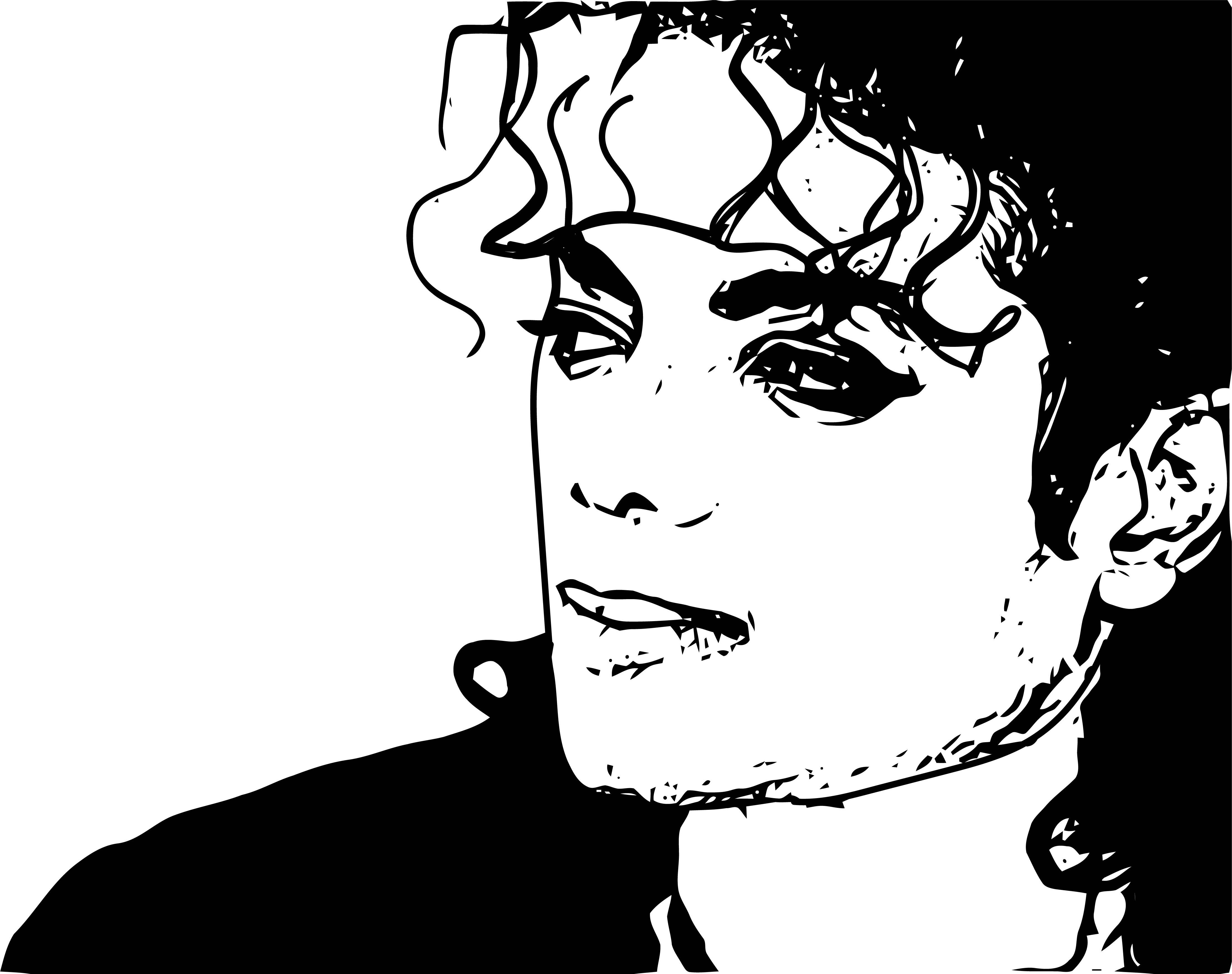 Michael Jackson Coloring Page 06
