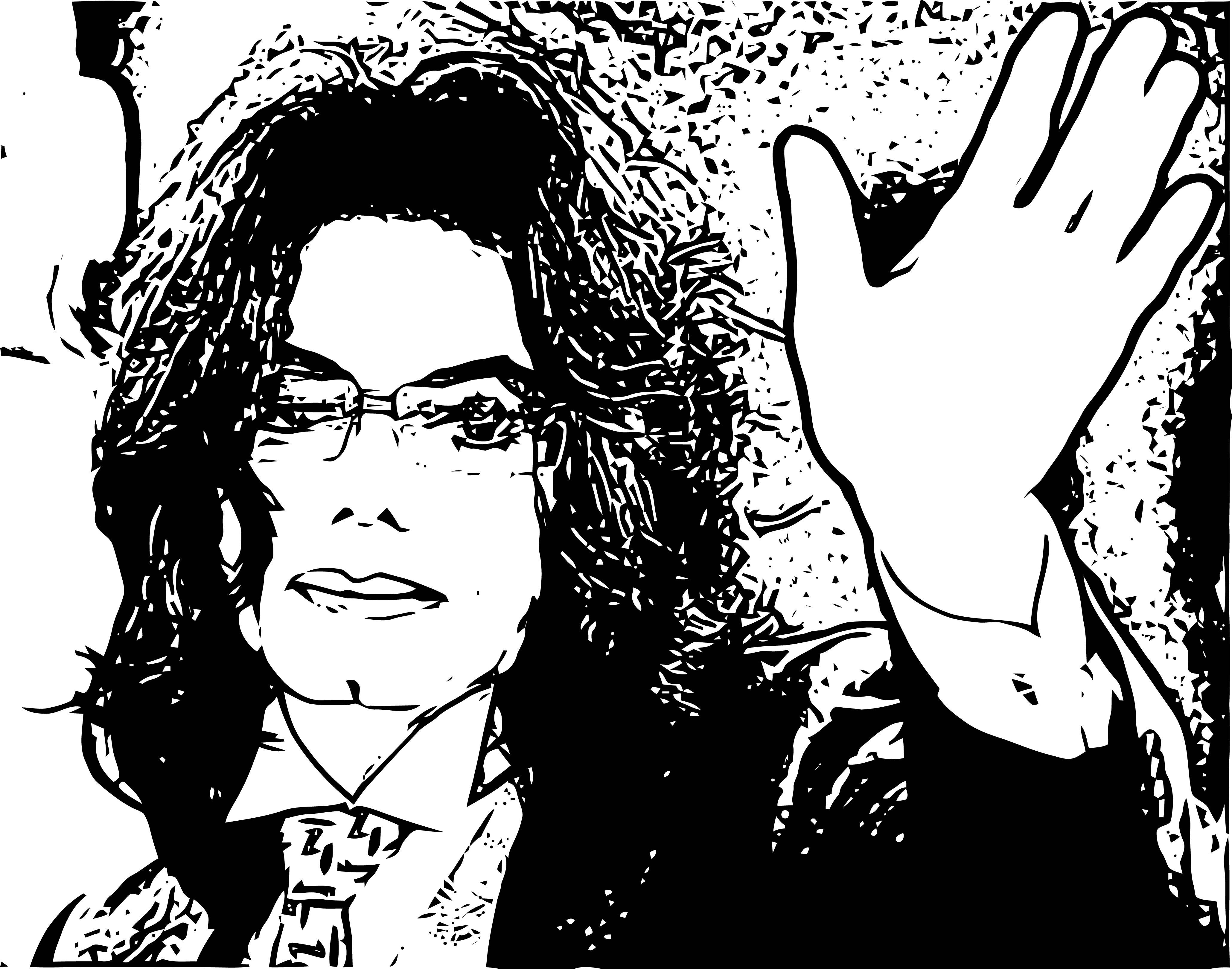Michael Jackson Coloring Page 08