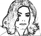 Michael Jackson Coloring Page 24