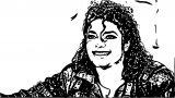 Michael Jackson Coloring Page 26