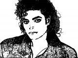 Michael Jackson Coloring Page 28