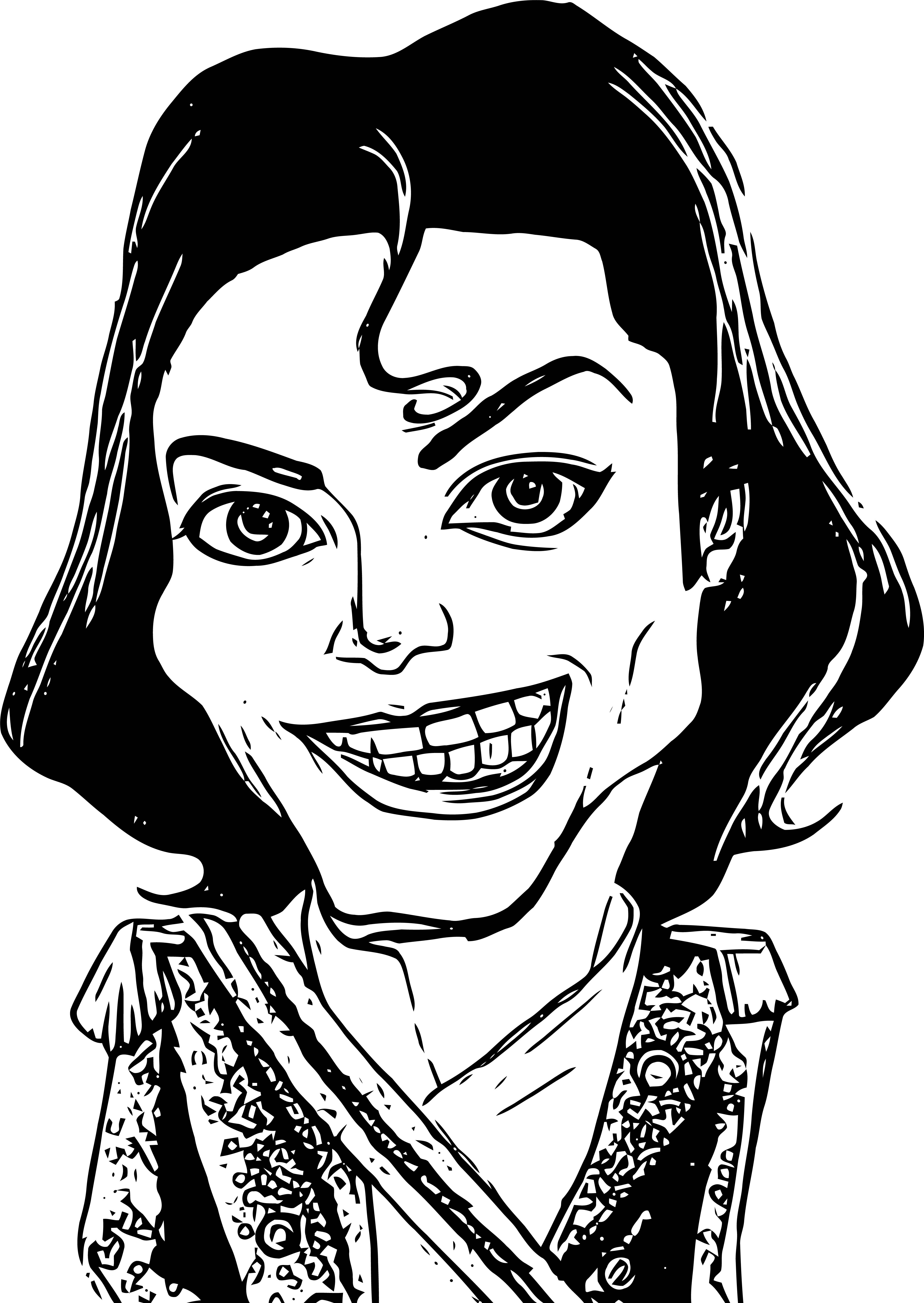 Michael Jackson Coloring Page 43