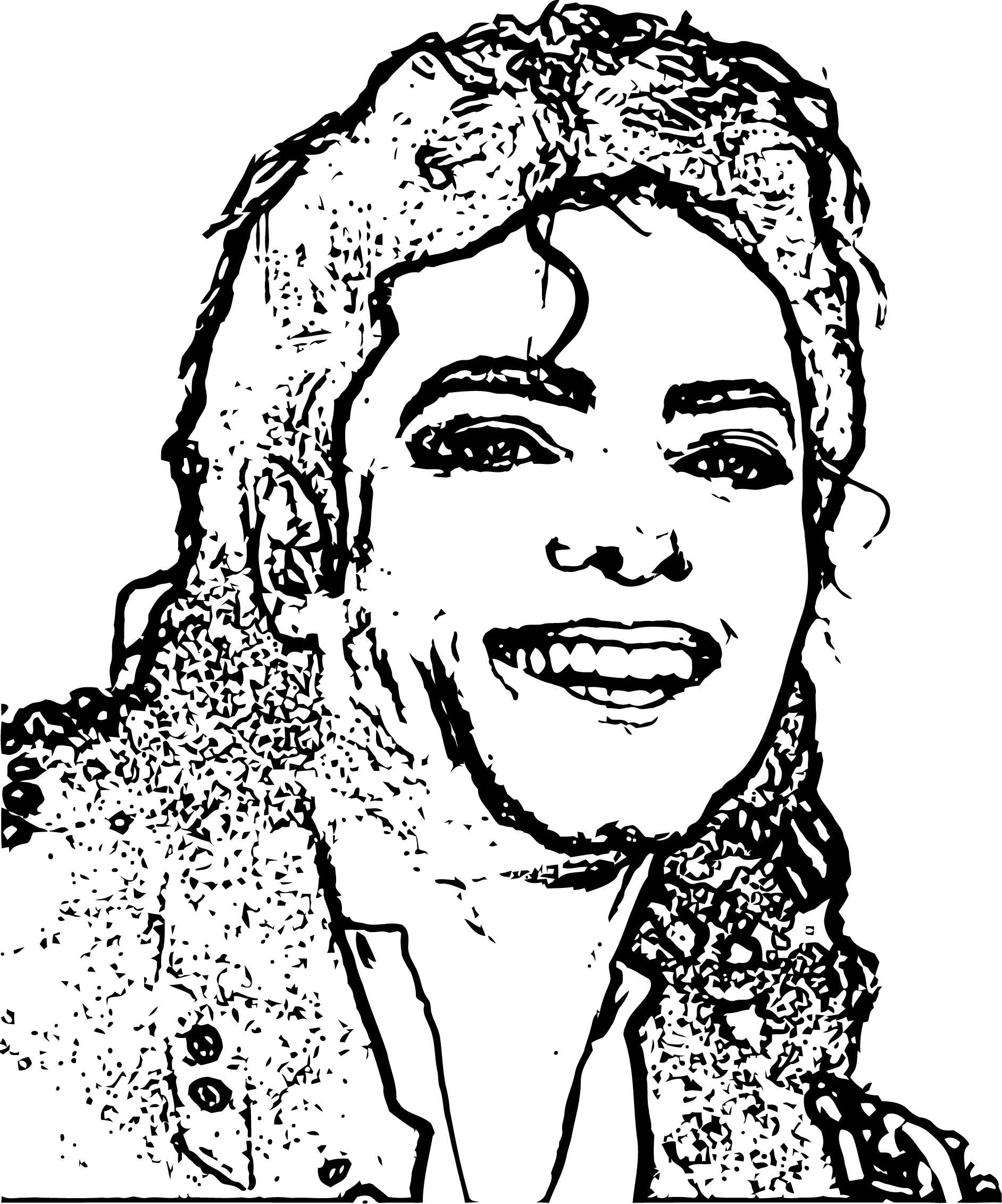 Michael Jackson Coloring Page 54