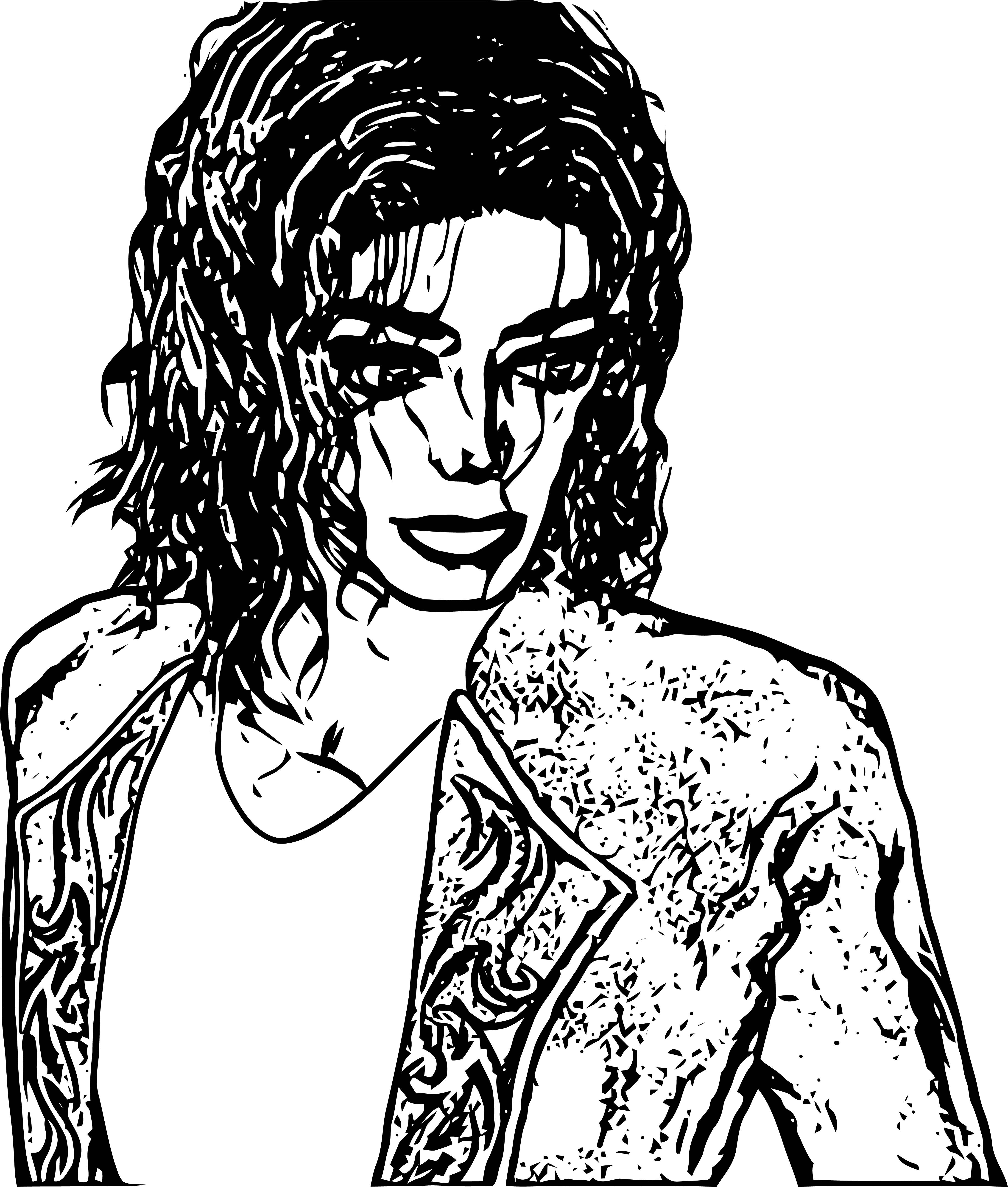 Michael Jackson Coloring Page 57