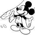 Mickey Mouse Cartoon Coloring Page Wecoloringpage 031