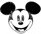 Mickey Mouse Cartoon Coloring Page Wecoloringpage 036