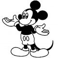 Mickey Mouse Cartoon Coloring Page Wecoloringpage 051