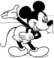 Mickey Mouse Cartoon Coloring Page Wecoloringpage 052