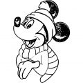 Mickey Mouse Cartoon Coloring Page Wecoloringpage 055