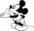 Mickey Mouse Cartoon Coloring Page Wecoloringpage 083