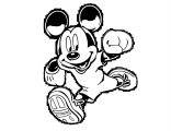 Mickey Mouse Cartoon Coloring Page Wecoloringpage 102