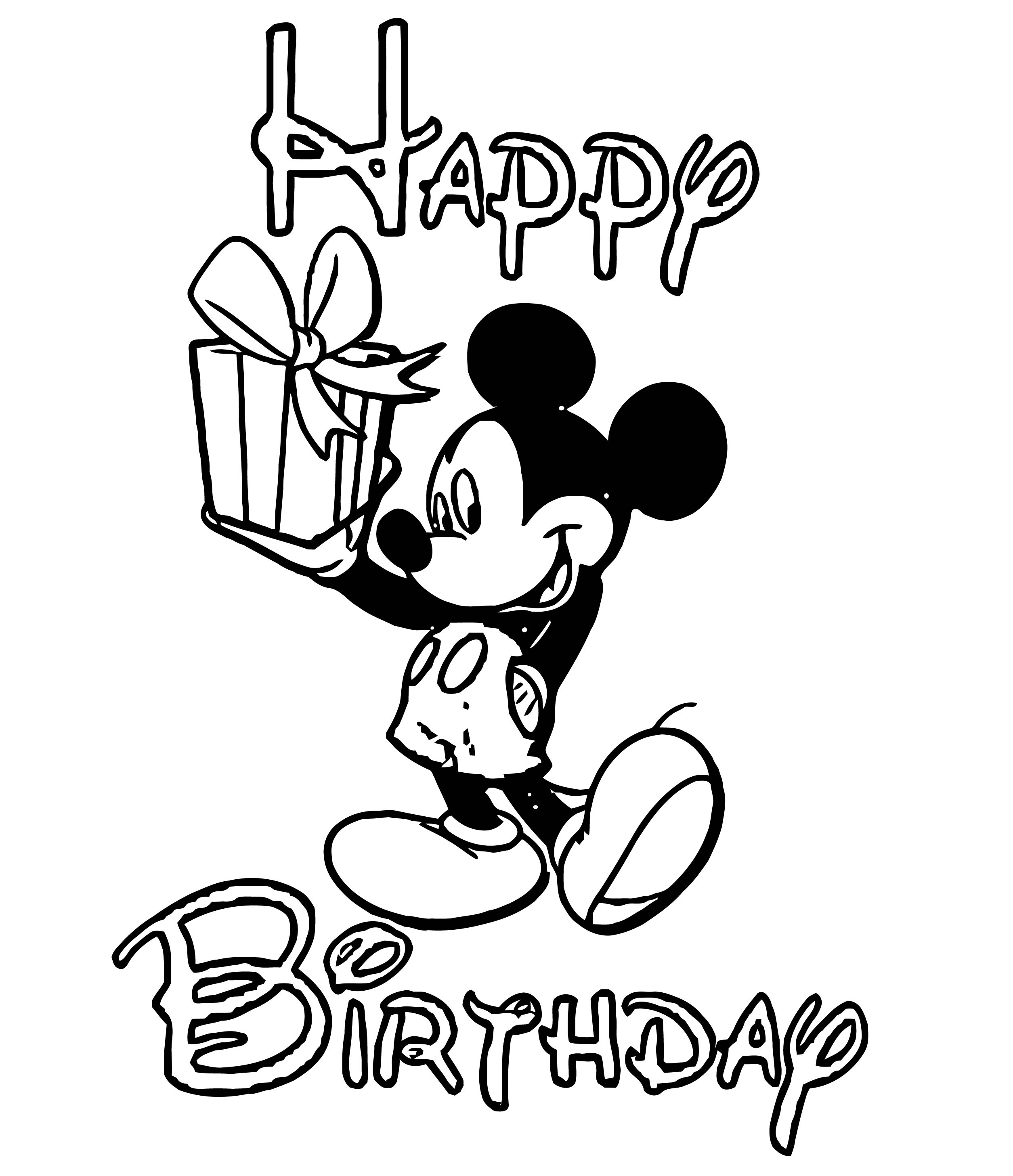 Mickey Mouse Cartoon Coloring Page Wecoloringpage 124
