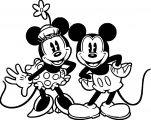 Mickey Mouse Cartoon Coloring Page Wecoloringpage 131