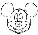Mickey Mouse Cartoon Coloring Page Wecoloringpage 138