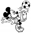Mickey Mouse Cartoon Coloring Page Wecoloringpage 142