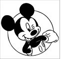 Mickey Mouse Cartoon Coloring Page Wecoloringpage 144