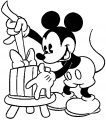 Mickey Mouse Cartoon Coloring Page Wecoloringpage 149