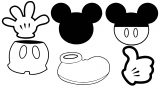 Mickey Mouse Head Clipart Minnie Mouse Head Mickey Mouse Border Panda Free Images Coloring Page