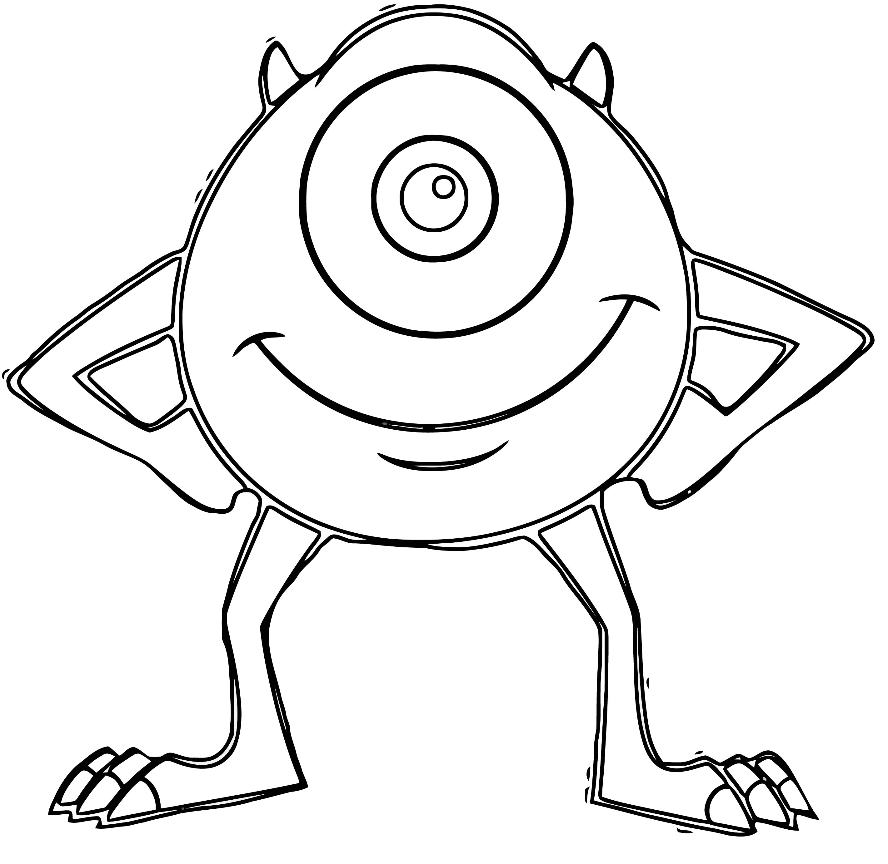 Monster S 21 Coloring Pages