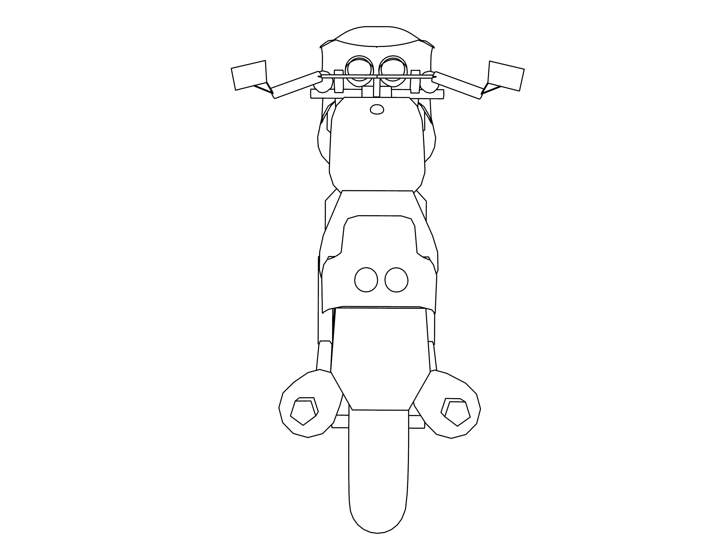 Motorcycle Coloring Pages 08