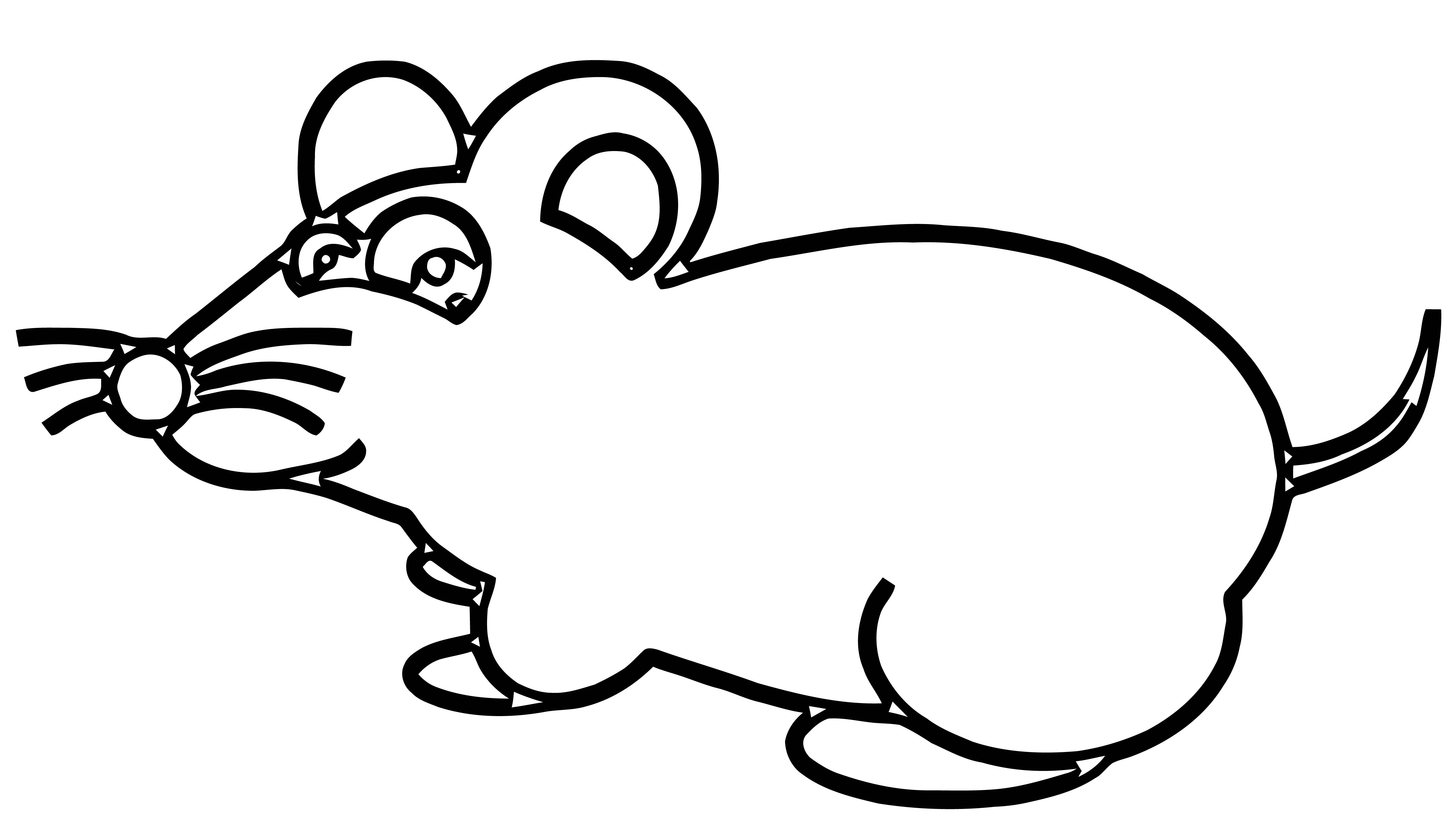 Mouse Coloring Page 63