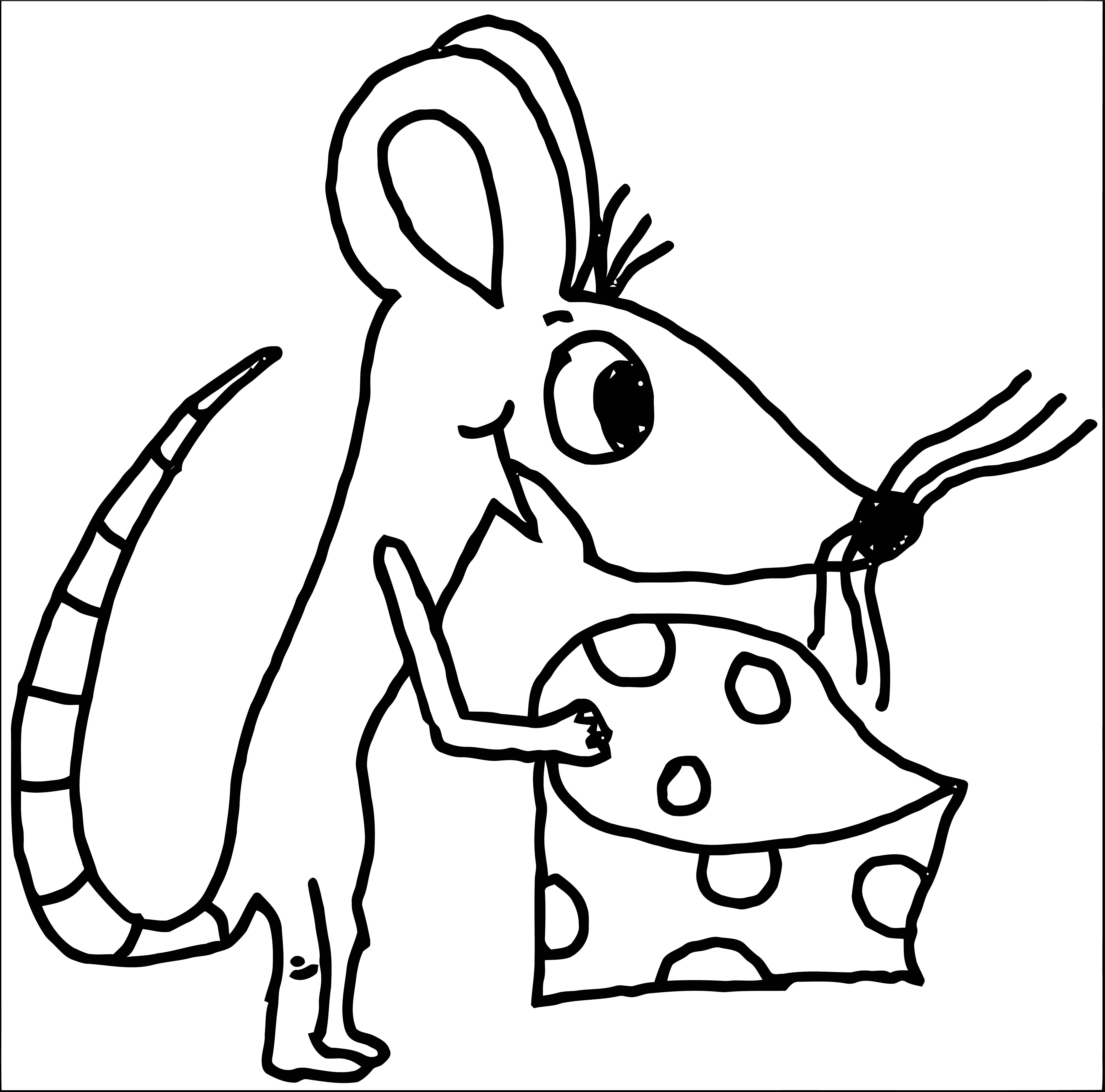 Mouse Coloring Page 65