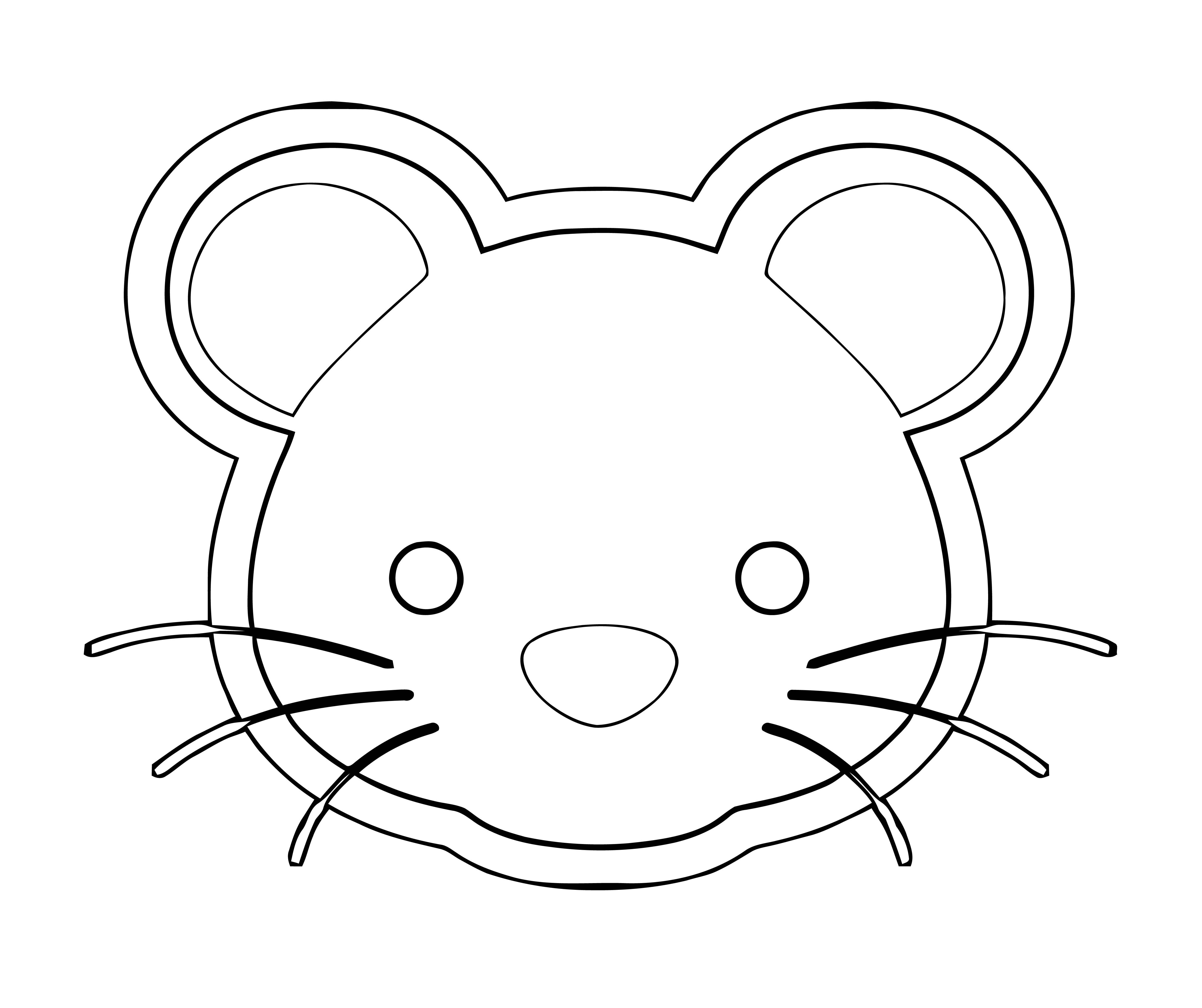 Mouse Coloring Page 66
