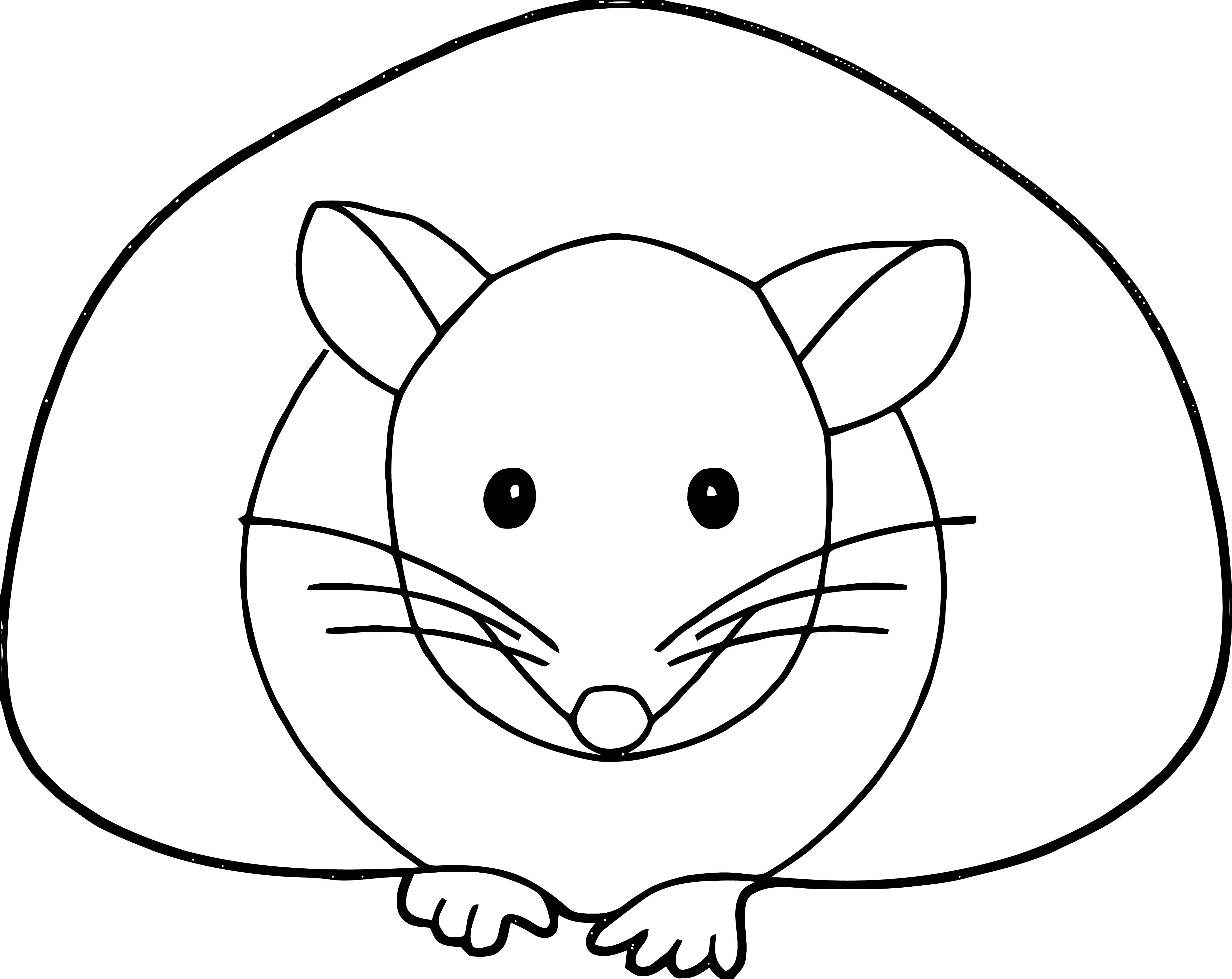Mouse Coloring Page 67