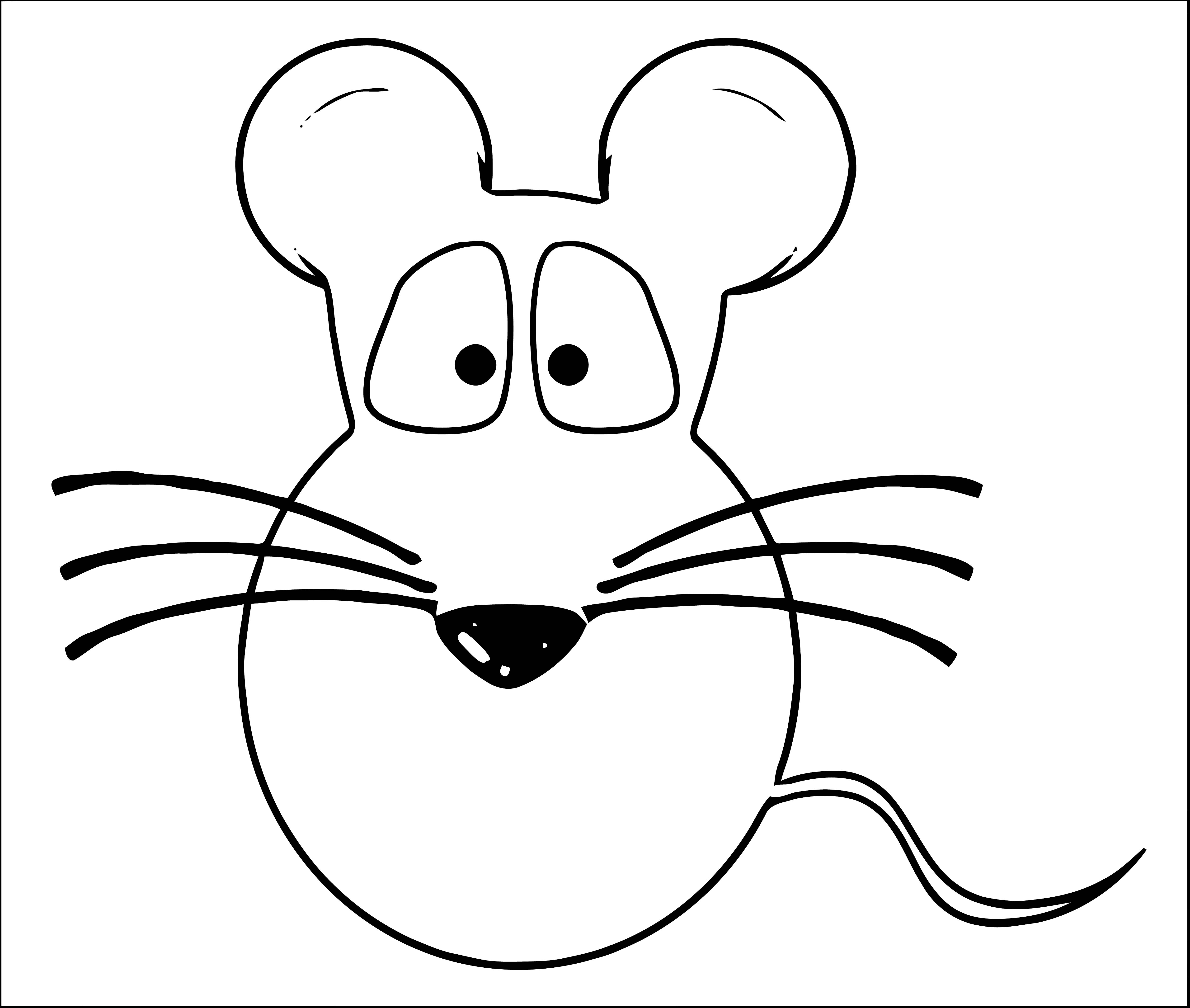 Mouse Coloring Page 70