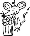 Mouse Coloring Page 75