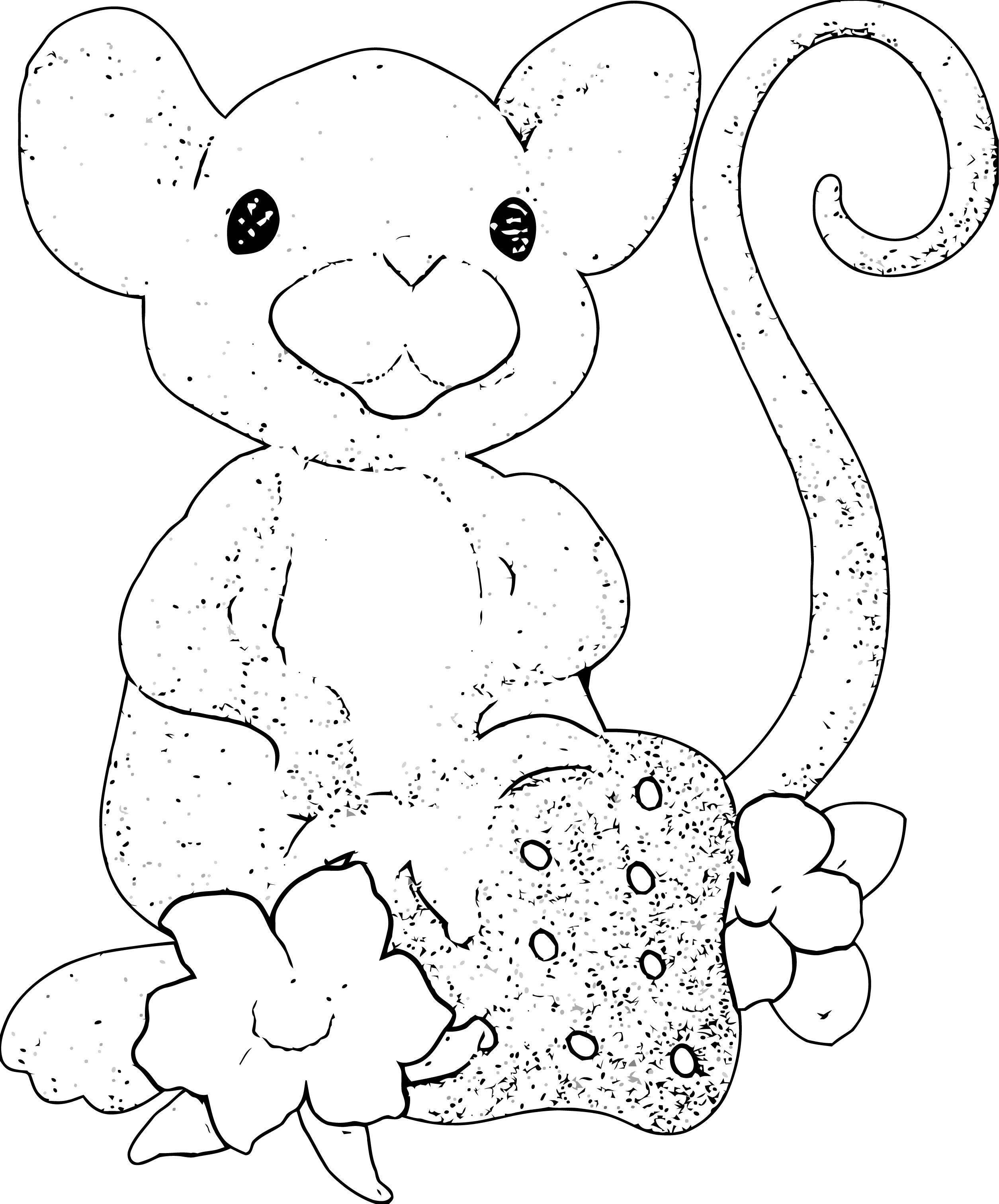 Mouse Coloring Page 77