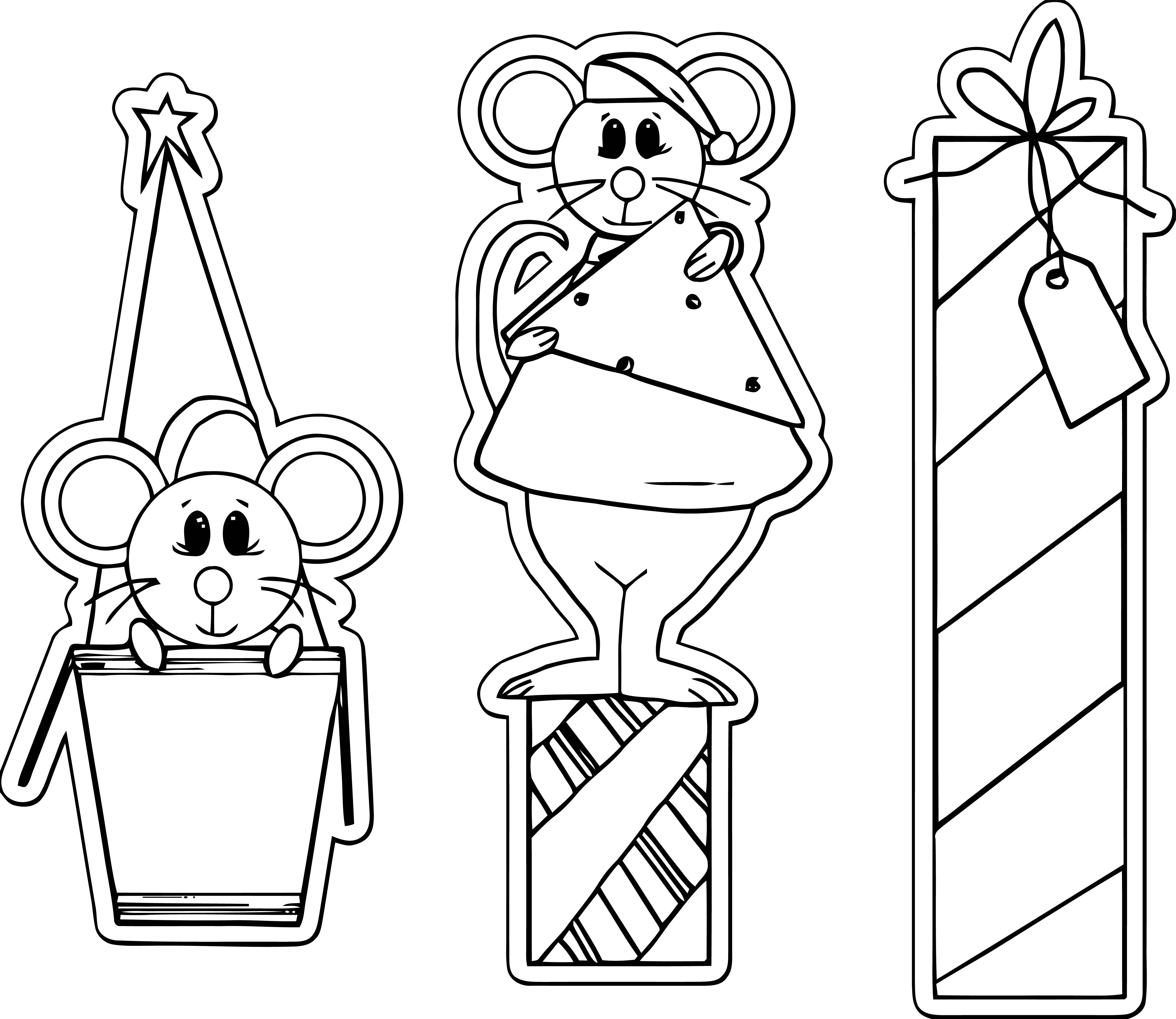 Mouse Coloring Page 78