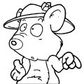 Mouse Coloring Page 87
