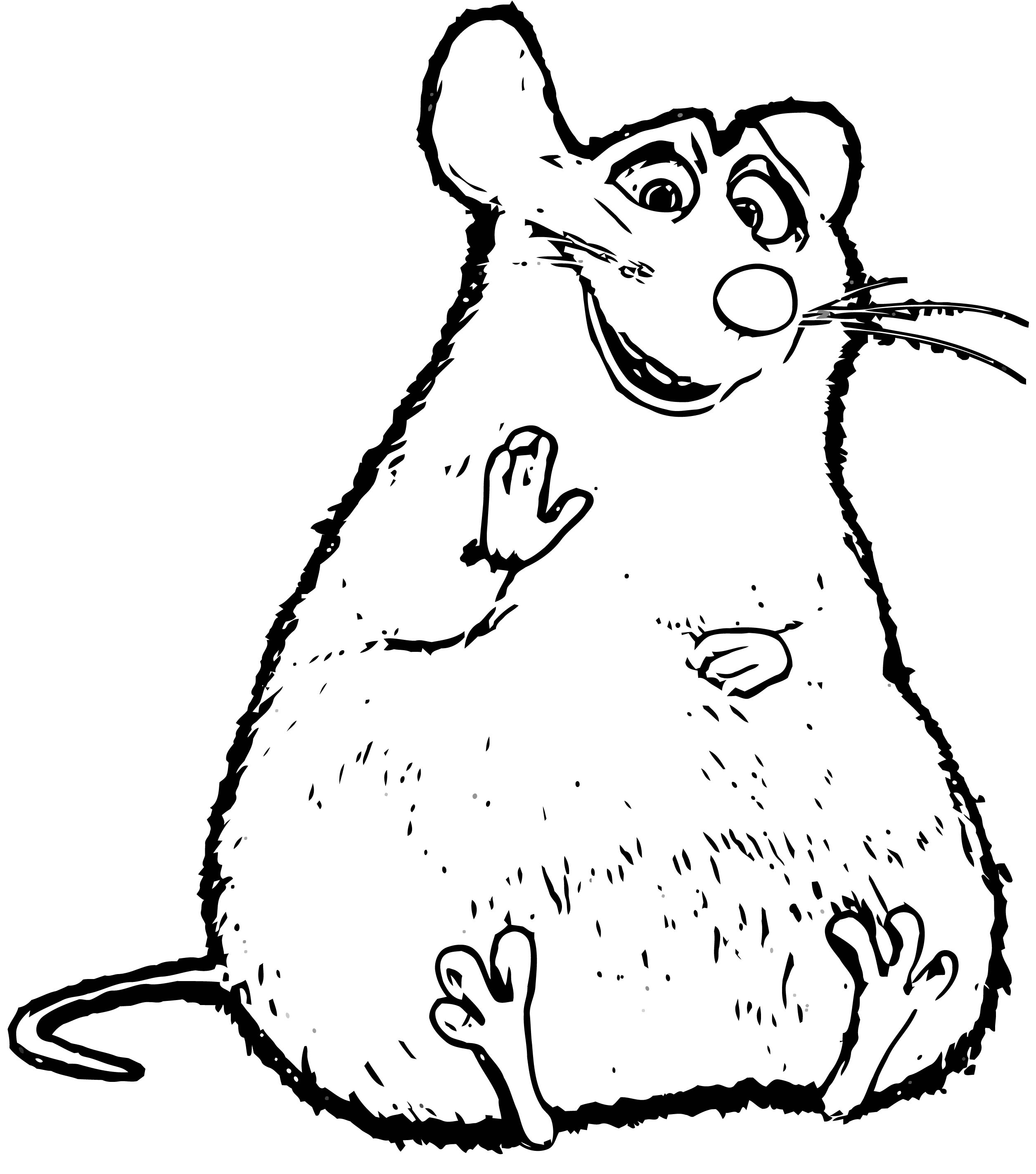 Mouse Coloring Page 89