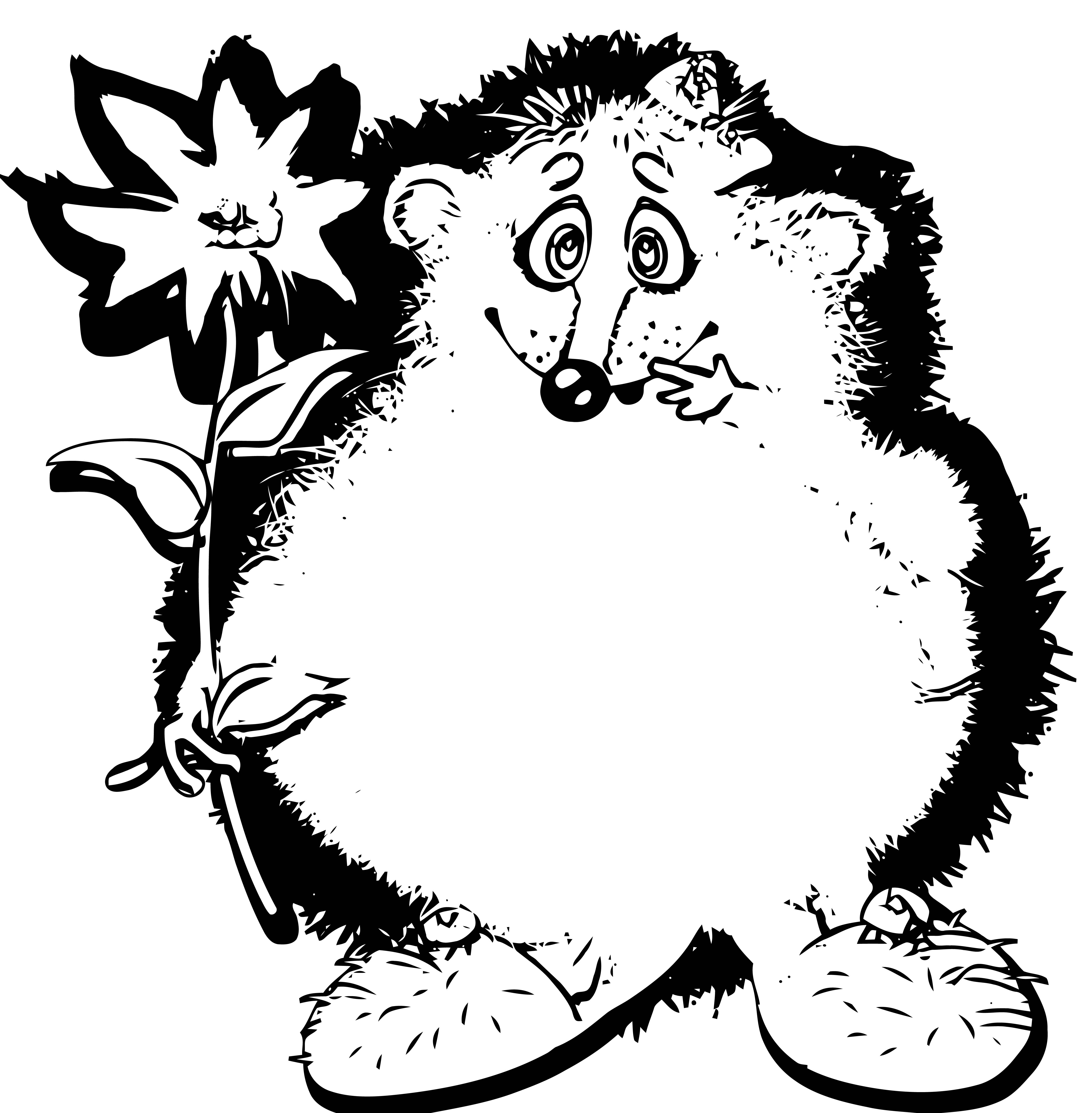 Mouse Coloring Page 90