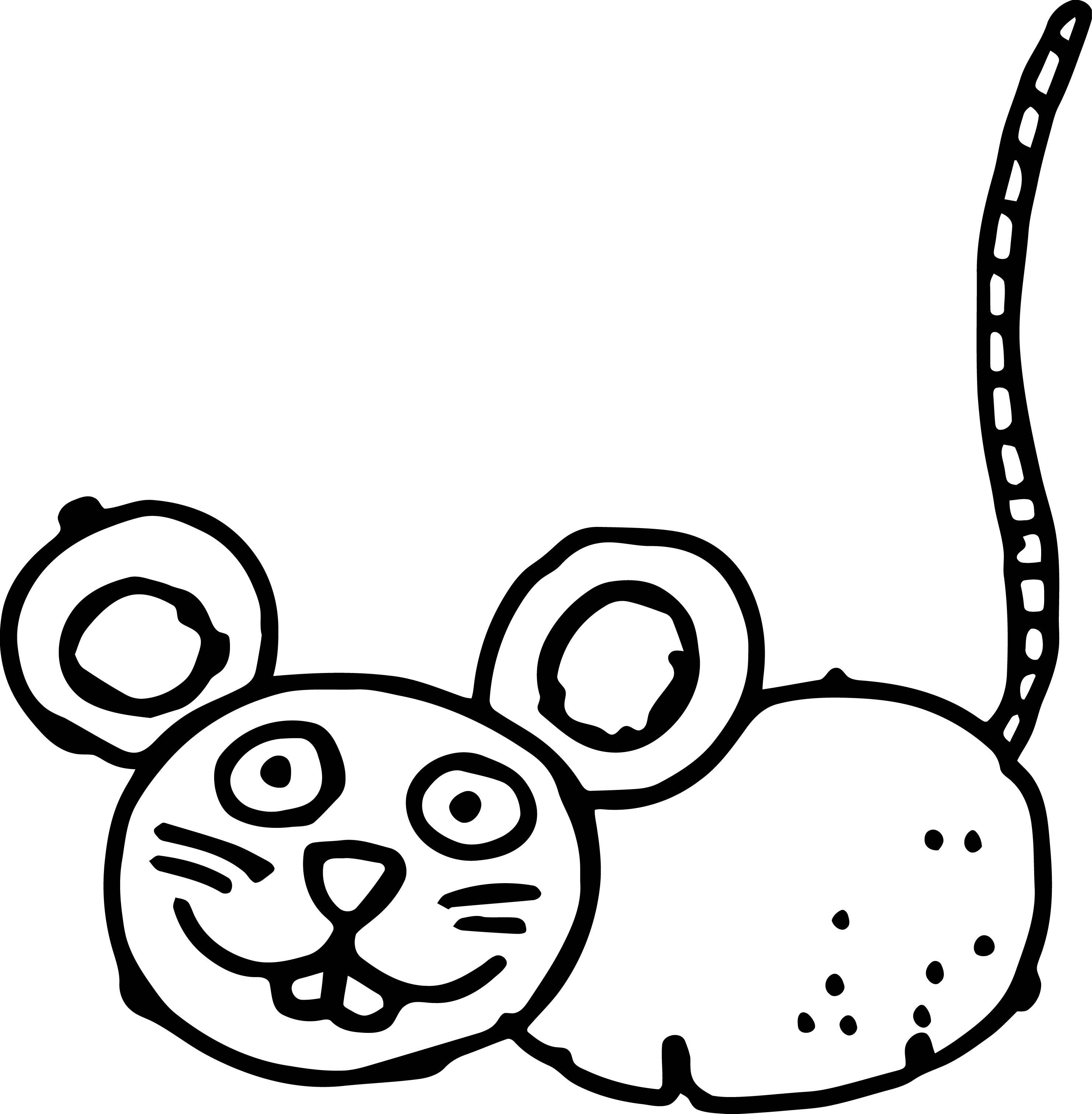 Mouse Jpeg Coloring Page 02