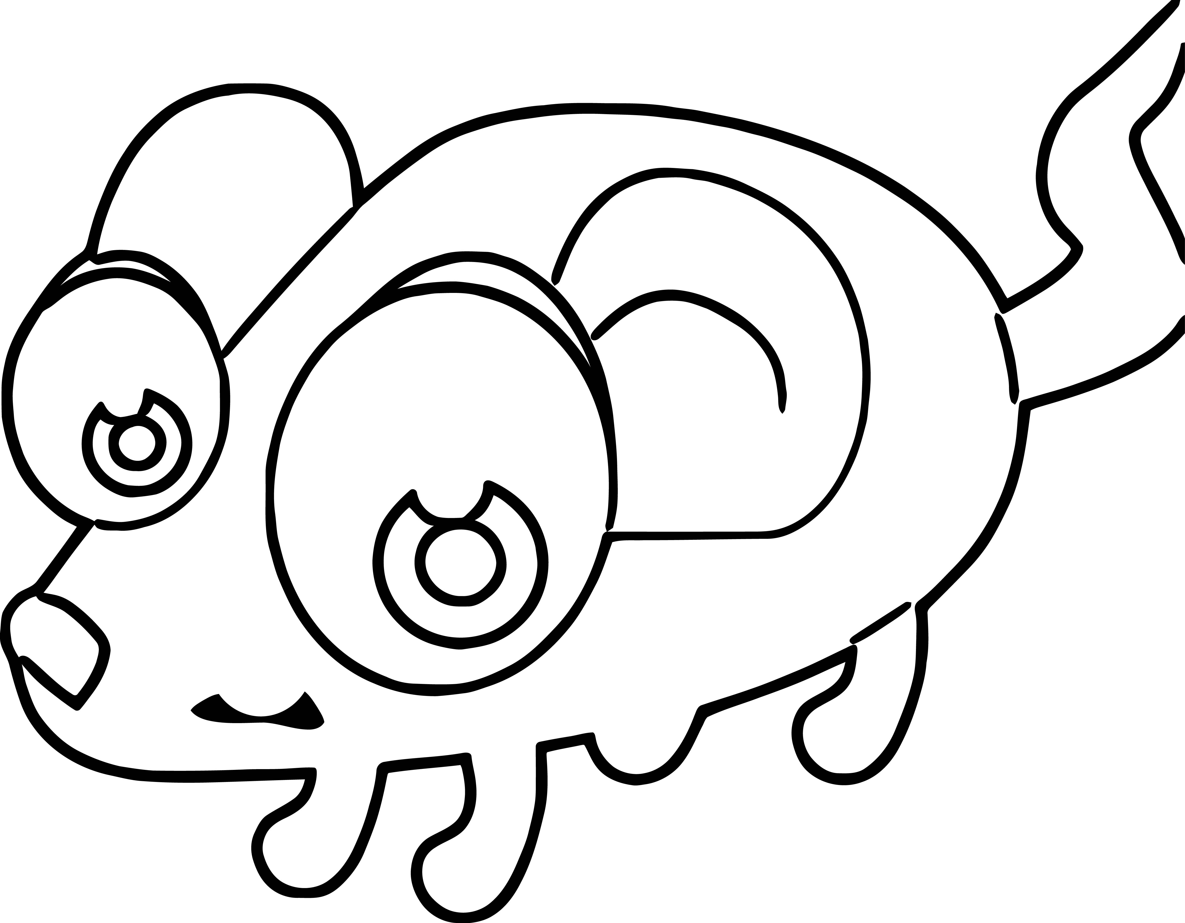 Mouse Jpeg Coloring Page 07