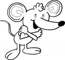 Mouse Jpeg Coloring Page 097