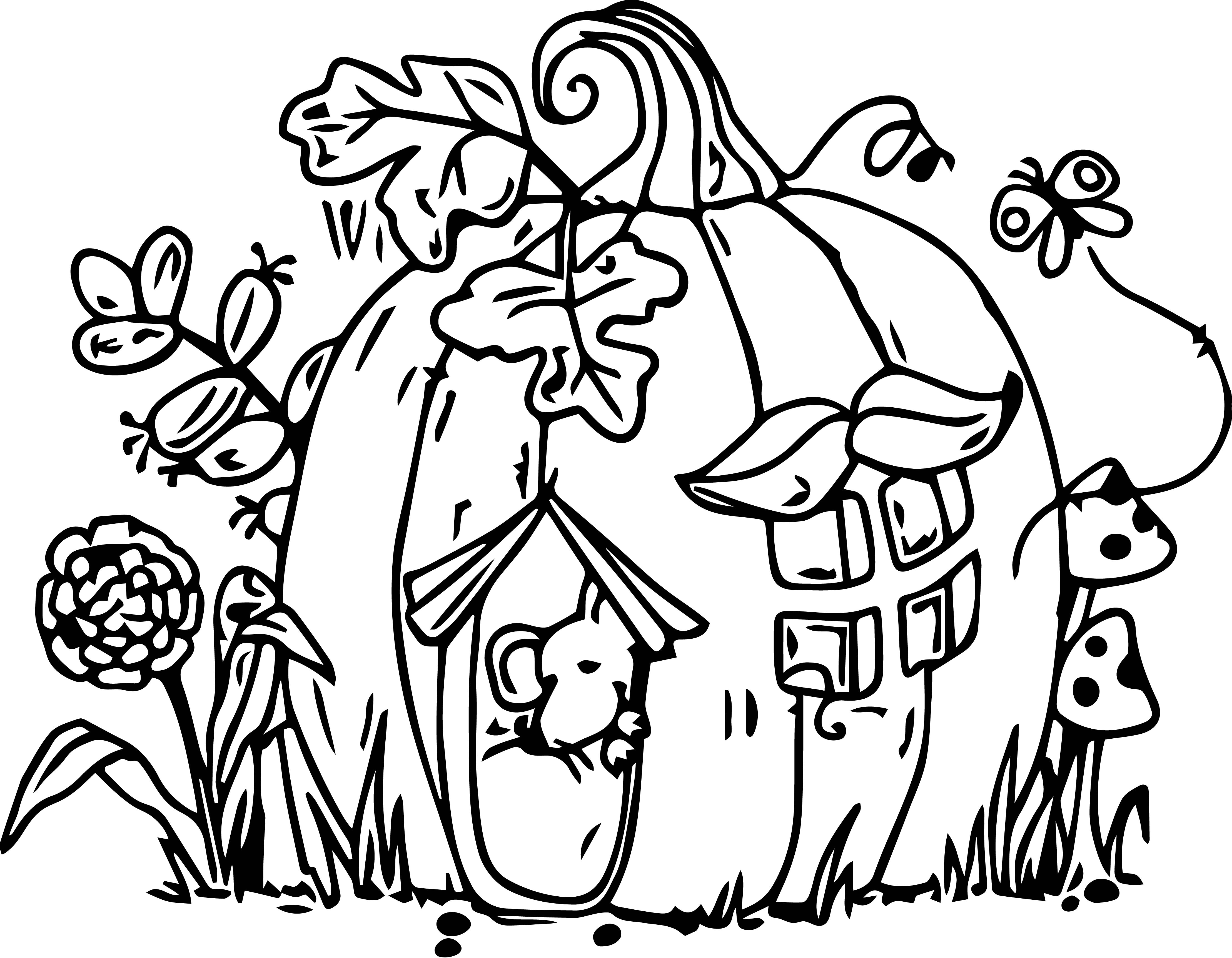 Mouse Jpeg Coloring Page 099