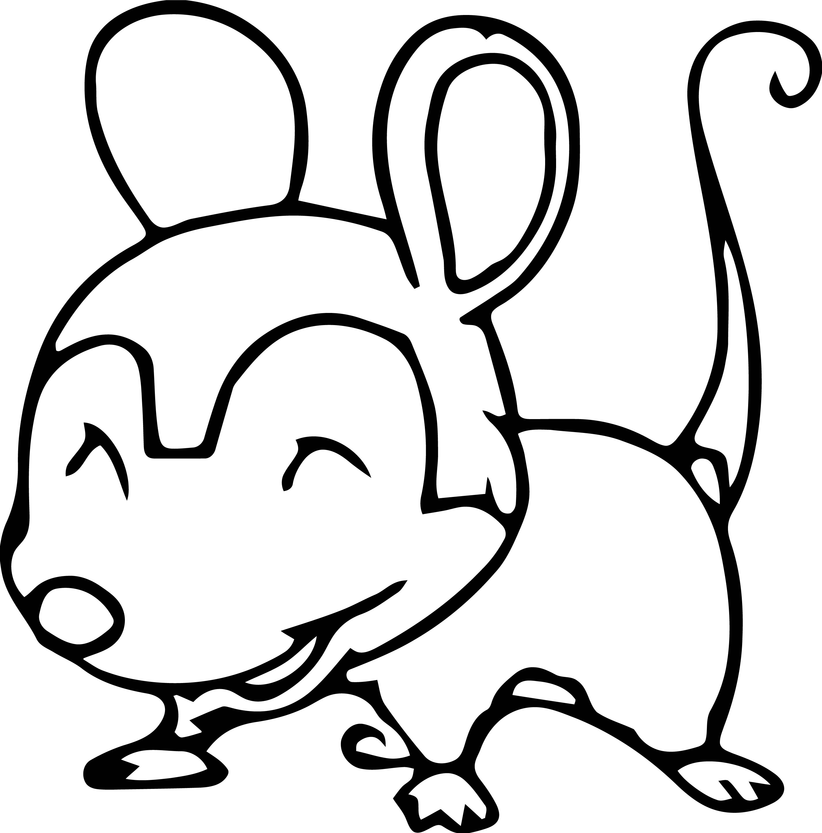 Mouse Jpeg Coloring Page 101