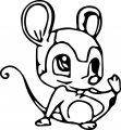 Mouse Jpeg Coloring Page 106