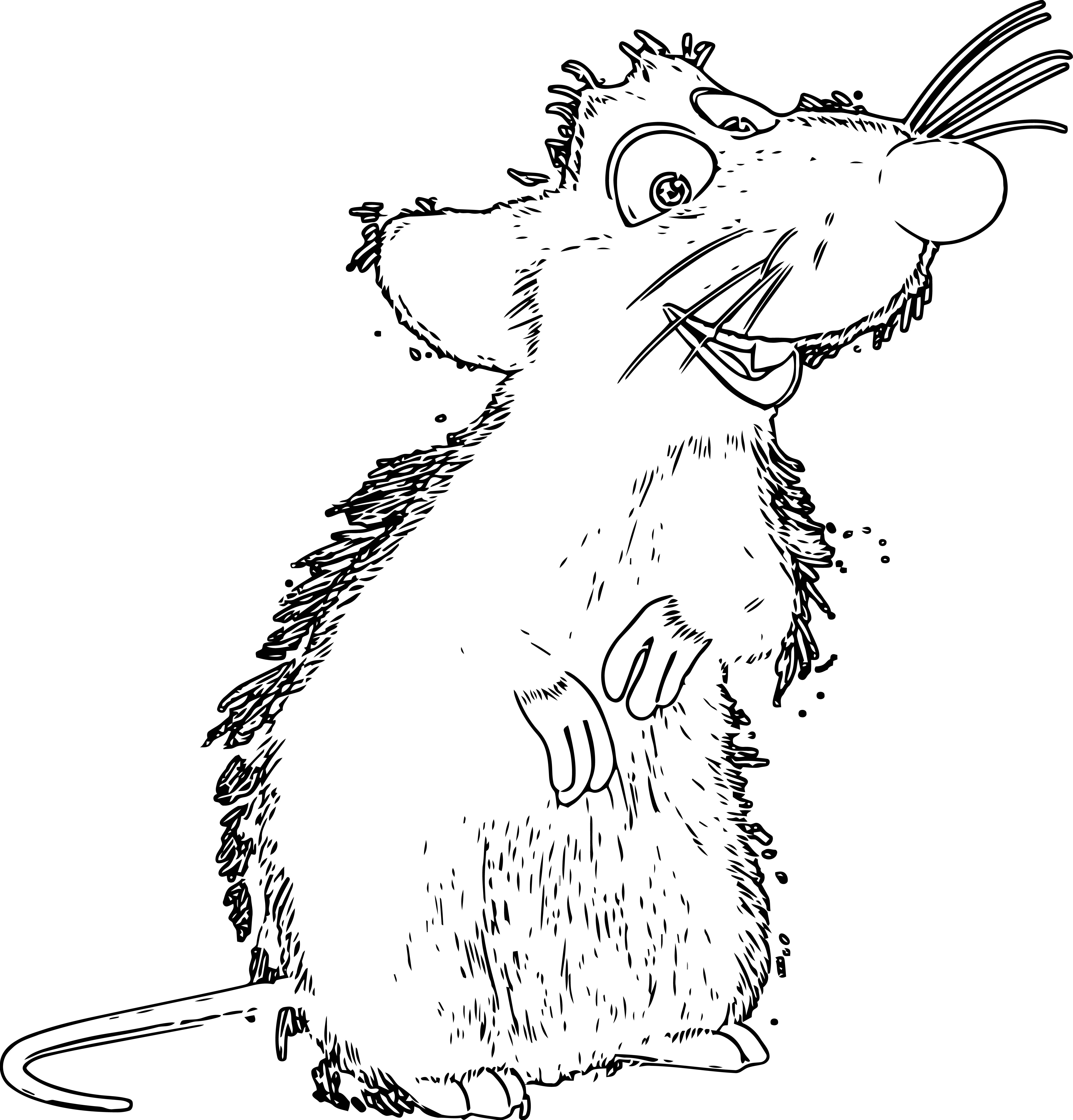 Mouse Jpeg Coloring Page 108