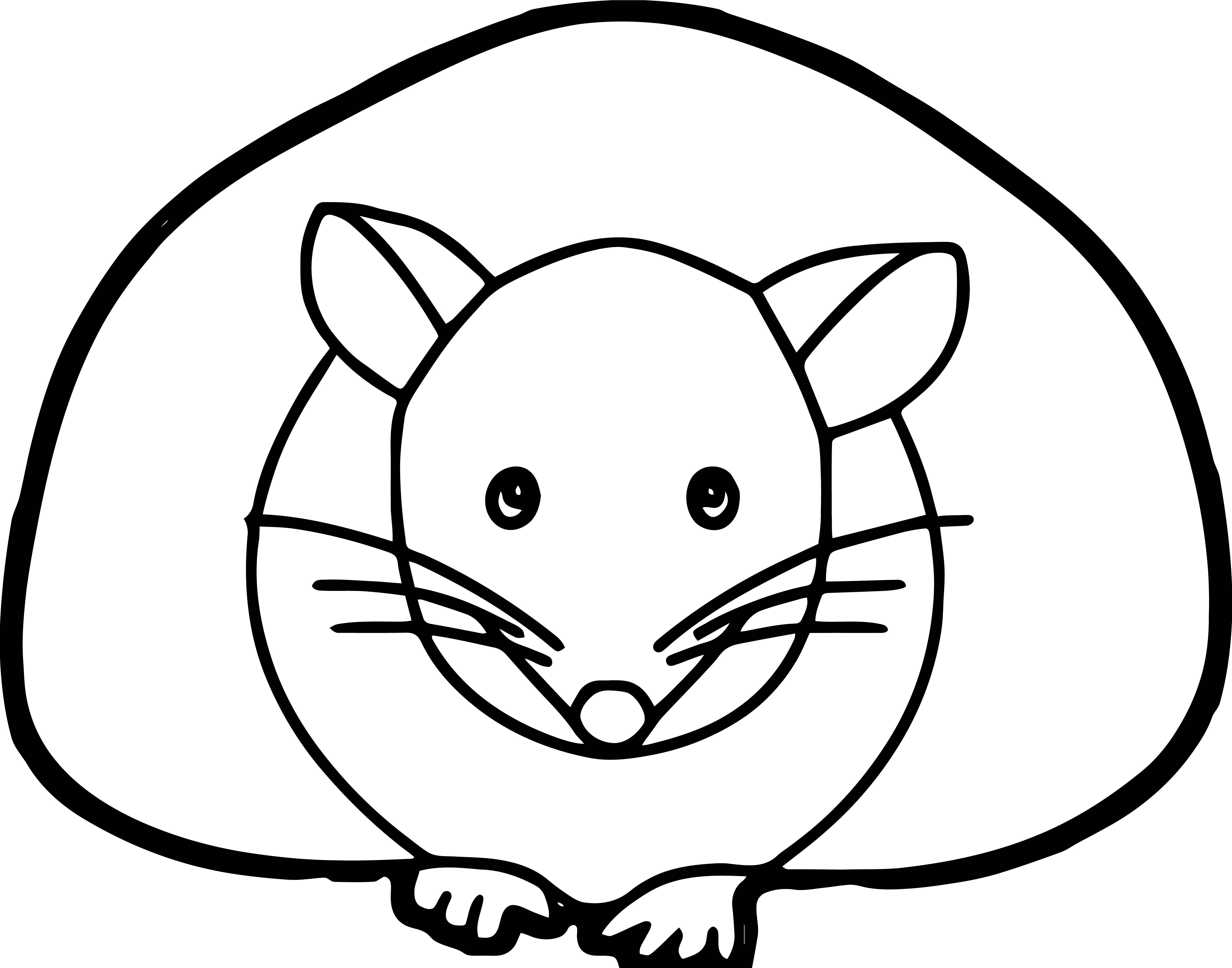 Mouse Jpeg Coloring Page 11