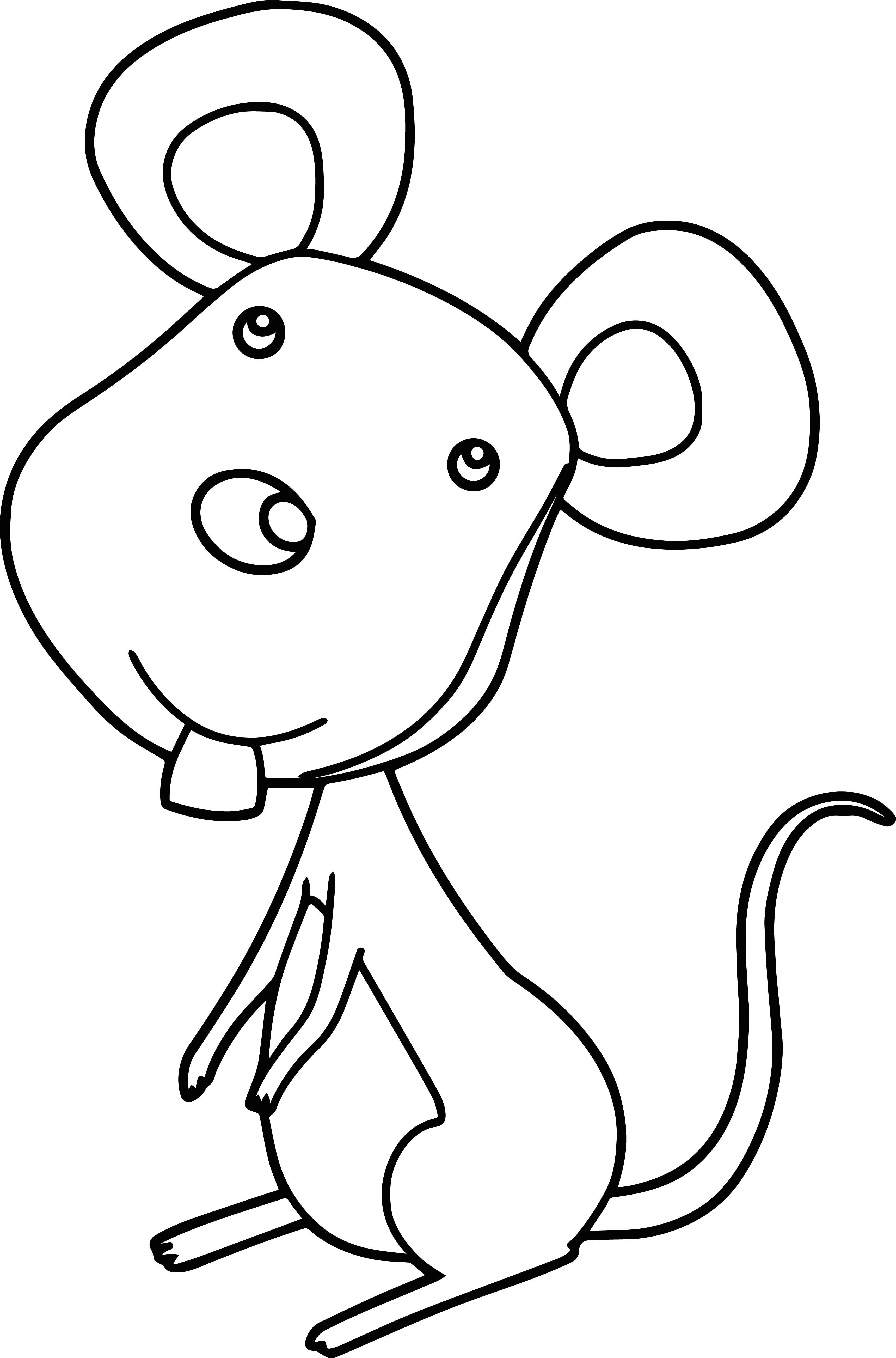 Mouse Jpeg Coloring Page 117