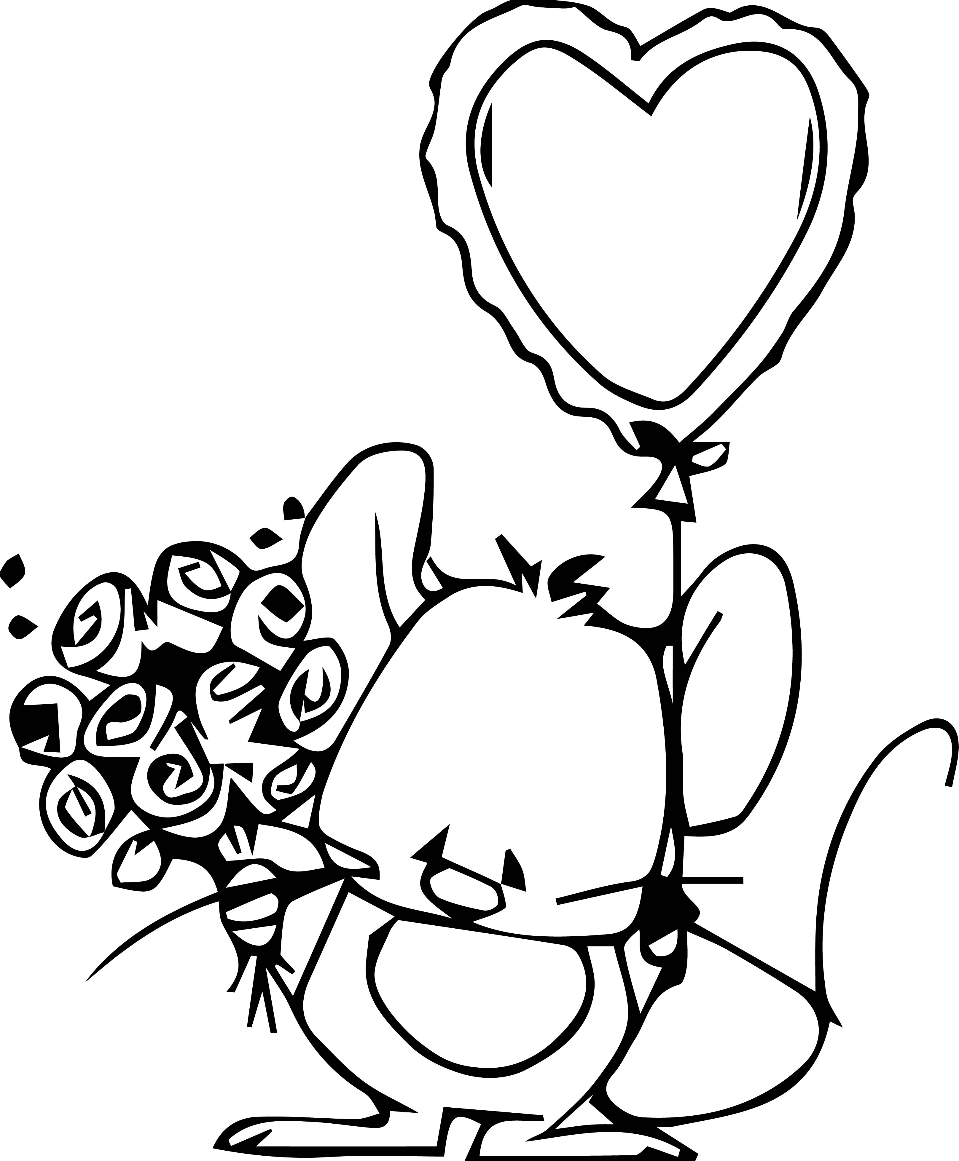 Mouse Jpeg Coloring Page 118